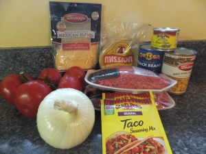 Mexican Casserole Ingredients