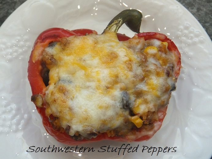 Southwestern Stuffed peppers 2