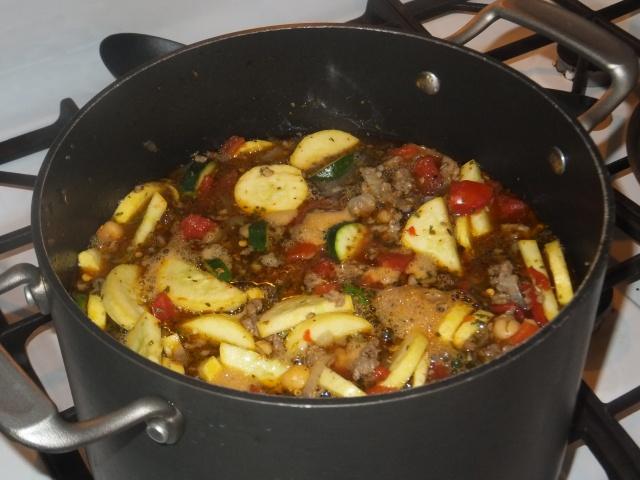 Italian Sausage Soup 2