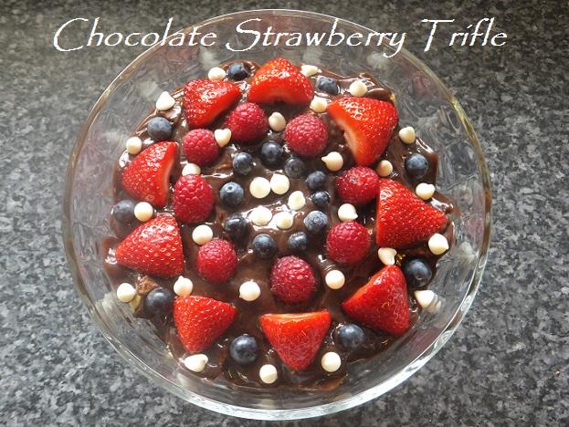 Chocolate Strawberry Trifle 1