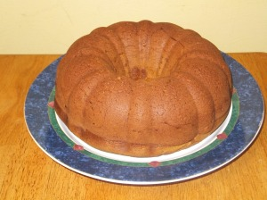 Pumpkin before icing