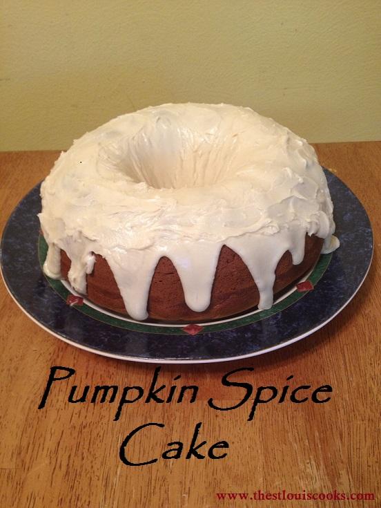 Pumpkin Spice Cake 5
