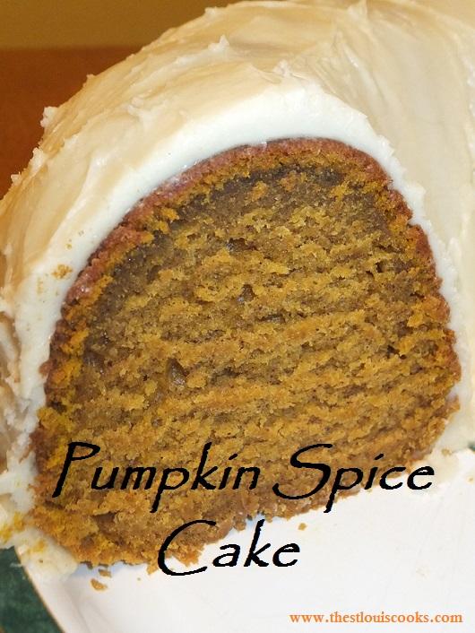 Pumpkin Spice Cake | The St. Louis Cooks