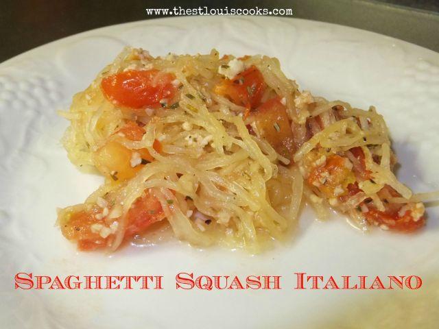 Spaghetti Squash Italiano