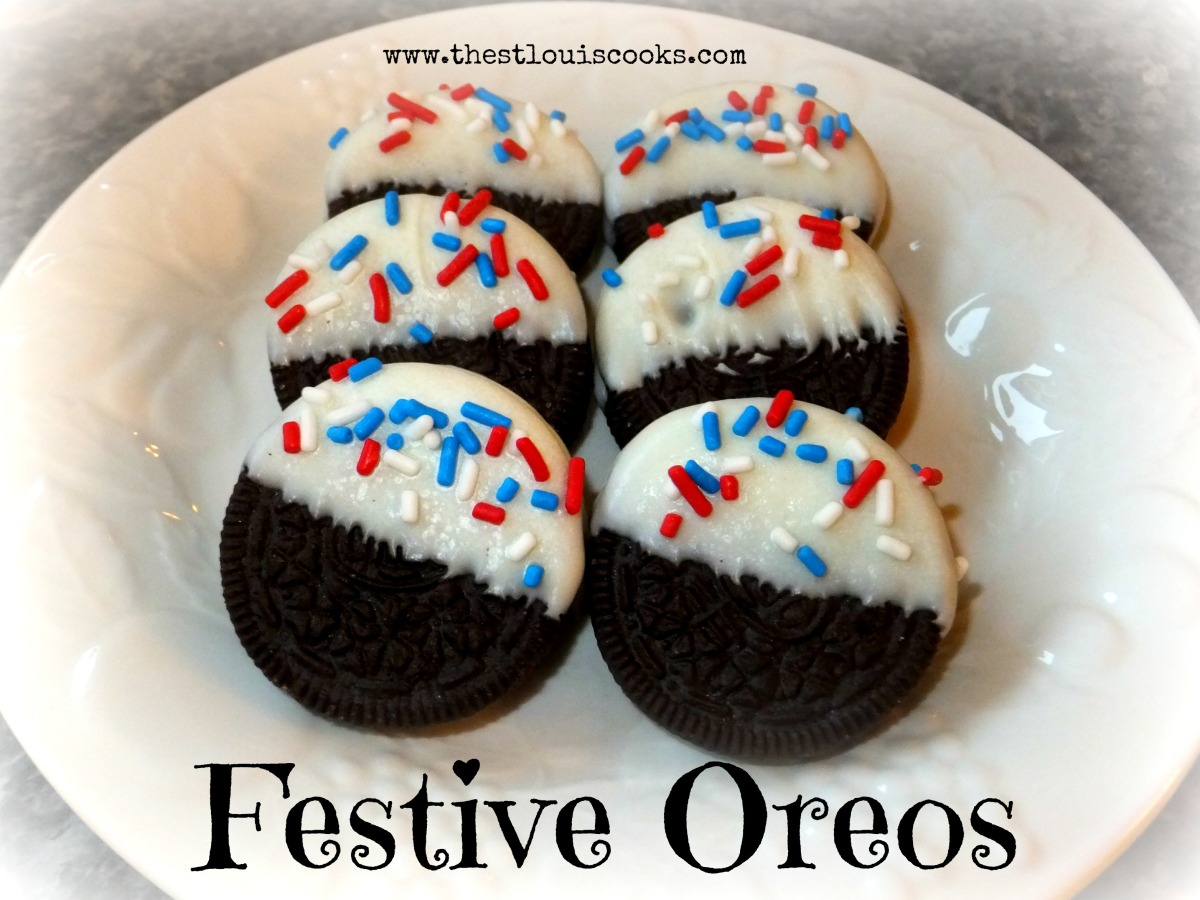 Festive Oreos